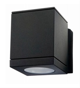 SG LIGHTING - Echo LED zwart 1x6W LED GU10 230V