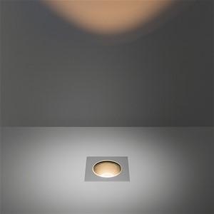 MODULAR - HIPY SQUARE 110X110 ANTI GLARE IP67 LED 3000K MEDIUM GE ALU
