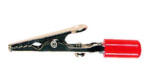 Elimex - PPP-Alligator clip red
