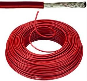 VOBst draad 10 mm² Eca - rood (H07V-K) - VOBST10RO