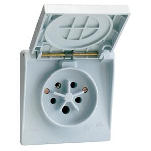 ABB Vynckier - WATERDICHTE CONTACTDOOS 3P+N+A32A IP44 GRIJS