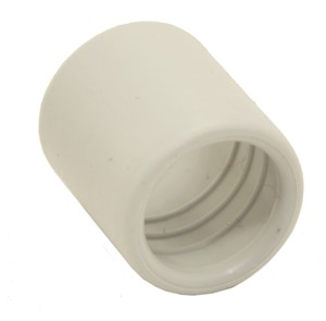 GSV - EINDTUL VOOR PVC BUIS VAN 16 MM RAL 7035 16 MM