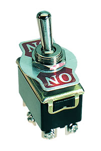Elimex - SS-322 Toggle switch DPDT (6P)