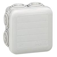 Legrand - Aftakdoos Plexo vierk. IP 55 waterdicht -grijs- 7 kabelinv.