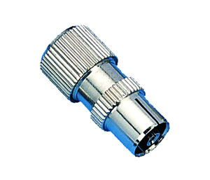 Elimex - JR-1758 9,5mm metal coaxial jack