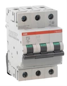 ABB Vynckier - EP30 disjoncteur 3kA 3P C 16A