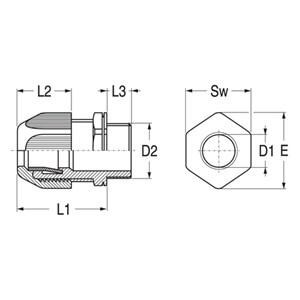 ABB Vynckier - PAKKINGBUS M32 - IP68 - POLYAMIDE GLASVEZELVERSTERKT