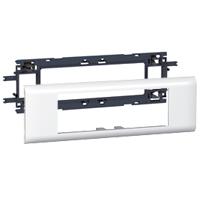 Legrand - Mosaic houder voor Mosaic contactdozen DLP - 6 modules (drievoudig) - voor deksel 65 mm - de houders worden geleverd met de afdekplaten