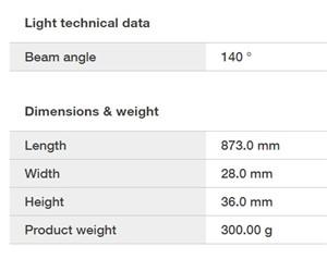 LEDVANCE - LN COMP SWITCH 900 12W/4000K LEDV