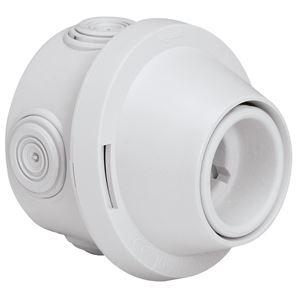 Legrand - Patère Plexo B22 - IP 20 250V 4A - douille porcelaine