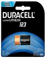 DURACELL - Duracell Ultra Lithium 3V (DL123A)