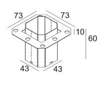 DELTA LIGHT - CONCRETE BOX 153