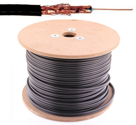 Coax kabel - 75 Ohm - Electrabel - per meter of op rol - 7CW05CRT2