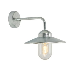 NORLYS - VANSBRO CLEAR GALVANISED E27 ,1 X 42W HALO