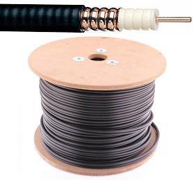 Coax kabel - 75 Ohm - Electrabel - 14mm - per meter of op rol - 7118