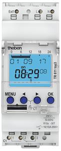 THEBEN - Digitale klok 24U/7D 230V 45-60HZ 1CO 16A