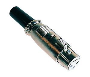 Elimex - O 92P Canon plug 3P