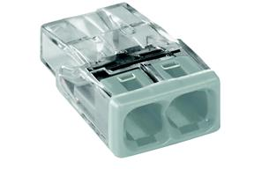 WAGO - 2 x 0,5-2,5mm² Transparant wit