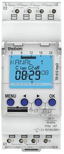 THEBEN - Digitale klok 24U/7D 230V 45-60Hz 2CO 16A
