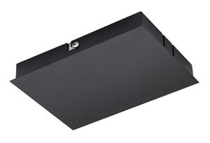 SG LIGHTING - ZIP 230V plafonddoos vr voeding zwart