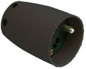 ABB Vynckier - BEGONIA:PRISE MOBILE 2P+T 16A250V~NOIRE