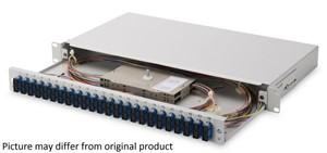 LOGON - Fiber Optic splice box equipped: 24x SC duplex MM/OM3