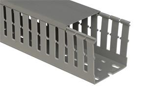 GSV - Canaux de cablage type E à fentes 12-8 mm100x150 mm