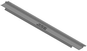 VAN DER VALK - Panneau arrière galva ValkPro+ L15° L1780mm