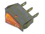 Elimex - KF-DS-2 Switch + lamp unipolar