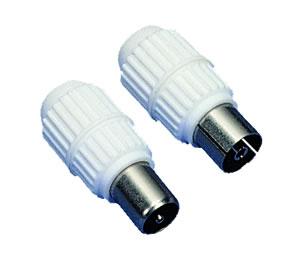 Elimex - 34067 & 34068 2-inline coax. plug + jack