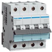 HAGER - Automaat 6kA - C - 4P - 50A - 4M.