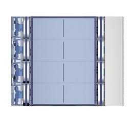Bticino - AVT - Frontplaat voor 352100 8 drukknoppen All Metal