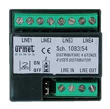 Urmet - VIDEOVERDELER 2VOICE 1IN/4UIT
