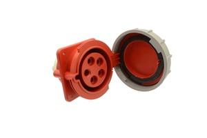 GSV - CEE INBOUWDOOS (SCHUIN) - 32 AMP - 4 POLES - 415 V - IP67