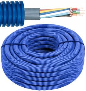 Tube précâblé - câble SVV - 2 x 0,8mm² Ø 16mm, 100 mètres - FLEX FESVV2