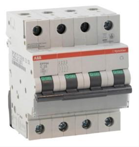 ABB Vynckier - EP30 disjoncteur 3kA 3P+N C 10A
