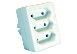 Elimex - Domino enffichable 3X2,5A sans câble