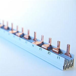 FTG - Kam.2P=L1,L2(N)…Pin, 10mm², L- Vorm, 56mod, 17mm, 1000mm